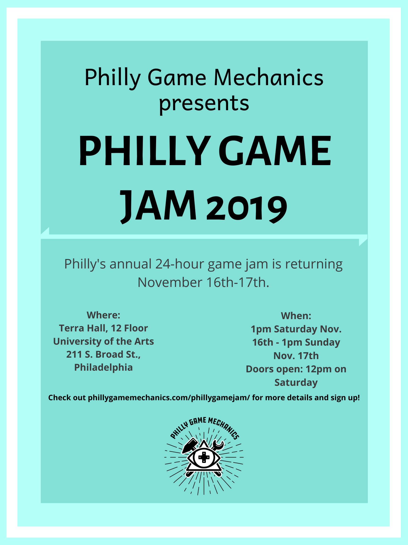 philly game mechanics philly game jam 2019 philly game mechanics philly game jam 2019